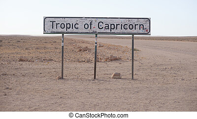 Capricórnio, trópico
