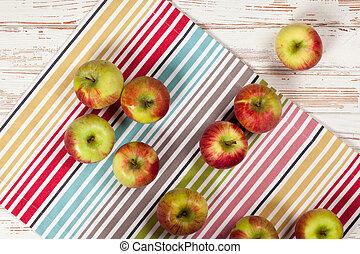 Fresh juicy apples