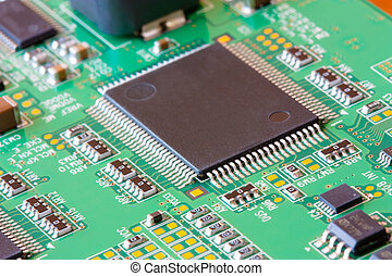 microelectronics - Background can use the Internet, print...