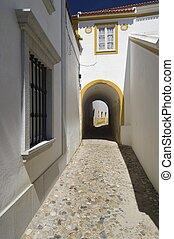 Evora - Arch in the city of Evora, Portugal