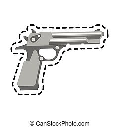 Isolated gun design