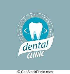 vector logo dental