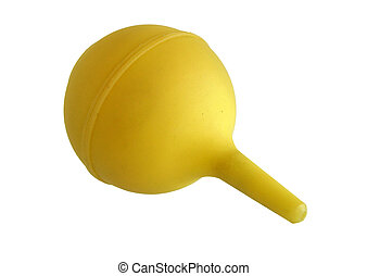 Yellow bulb syringe