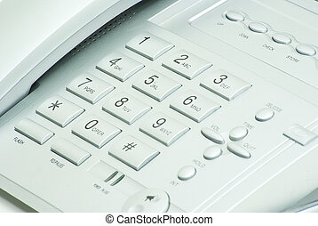 phone keypad - grey phone keypad close up