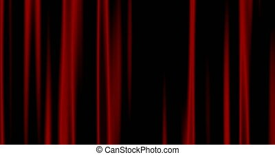 Seamless Looping abstract background red curtains - Looping...