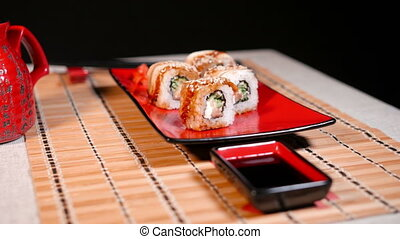 Japanese Rolls For Two Persons - Japanese rolls for two...