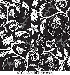 Floral pattern, vector - Floral pattern, element for design,...