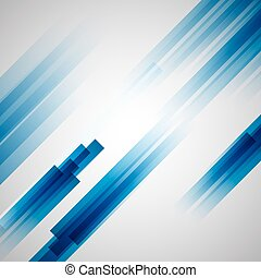 Abstract blue background with straight lines