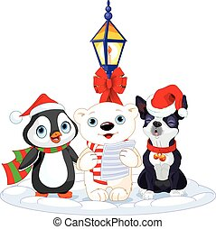 Carolers Stock Illustration Images. 959 Carolers illustrations ...