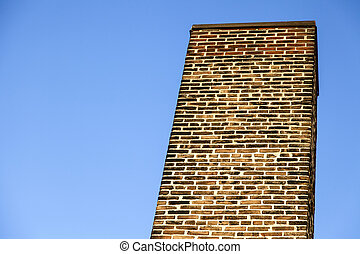 Brownstone Chimney - Brownstone chimney architectural...