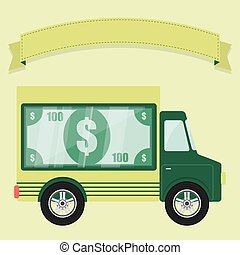 Concept of armored car