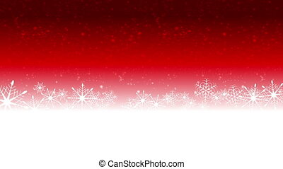 Bright red Christmas video animation - Bright red Christmas...