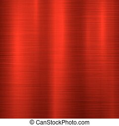 Red metal Technology Background - Red metal abstract...