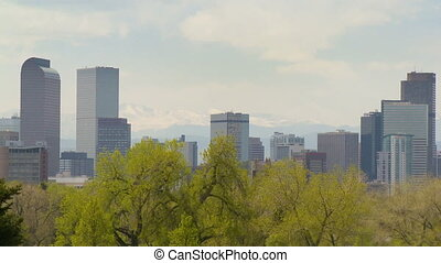Downtown Denver Time-lapse - The Denver, Colorado skyline on...