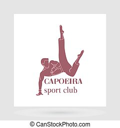 Capoeira sport club logo design - Sport club logo design...