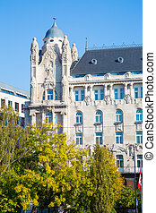 The Gresham palace in Budapest - The old building of the...