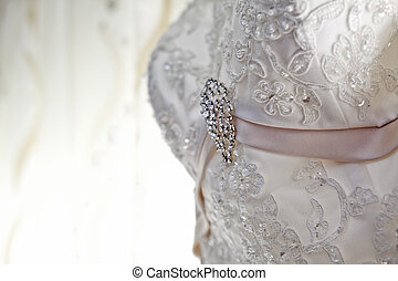 Luxury wedding dress with nice jewelry - Luxury wedding...