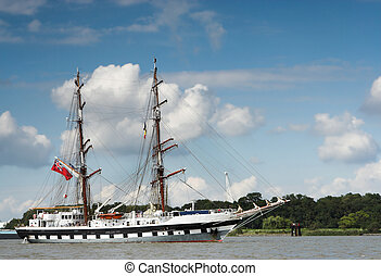Two-masted