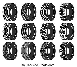 Tire or wheel for truck, bus, automobile tyre. - Tire or...