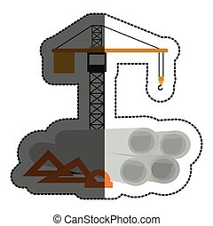 Isolated crane tool design