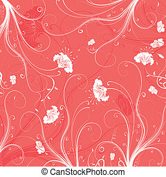 Abstract floral pattern, element for design, vector...