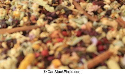 Organic natural different kind of healing herbs - Assorted...