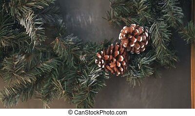Cristmas tree with fir-cone