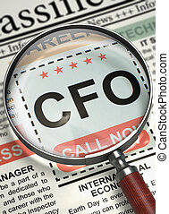 CFO Join Our Team. 3D. - CFO - Chief Financial Officer....