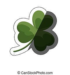 Isolated clover leaf design