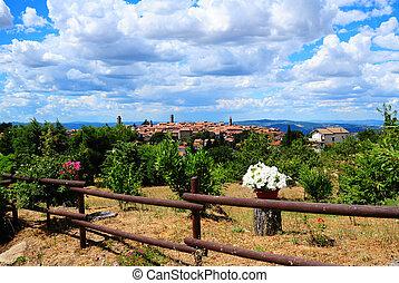 tuscan, 都市