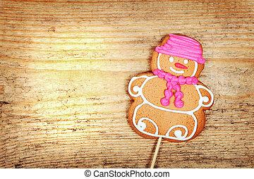 Lebkuchen, Weihnachten, Mann