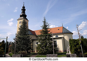 The parish church of the St. George Martyr in Gornja...