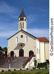 Church of Saint Francis of Assisi in Lipik, Croatia - Church...
