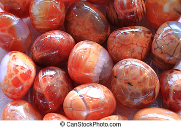 red fire agate minerals as nice natural background