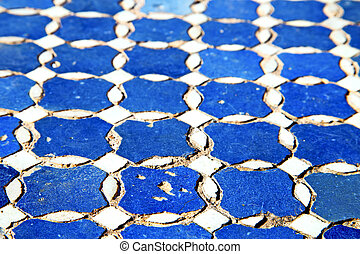 abstract morocco africa blue texture - abstract morocco in...