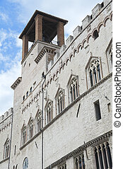 Priors\'Palace. Perugia. Umbria.