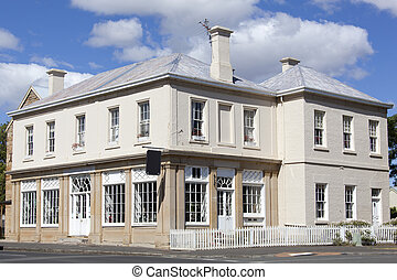 Tasmanian Historic Houses - The traditional building in...