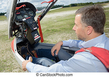 operating a glider