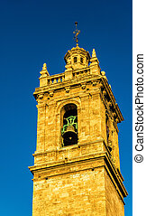 Iglesia de los Santos Juanes, a Church in Valencia, Spain -...