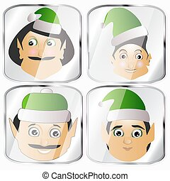 the elves a couple different lot button key to press click...