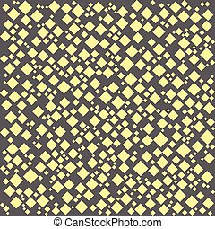 seamless pattern. EPS 10 vector illustration. used for printing, websites, design, interior, fabrics, etc. poker card game gambling theme yellow diamonds of various sizes on a gray background