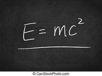 Einstein formula E=mc2
