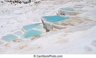 Turkey Pamukkale travertine