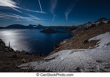 Merriam Point Overlook Oregon - Crater Lake as seen from...