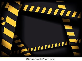 Danger Lines Background