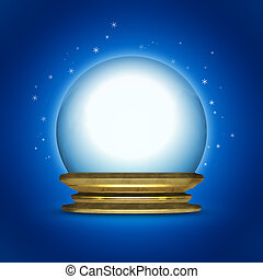 snow globe - An image of a nice snow globe