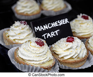Manchester Tarts. - Traditional Manchester tarts for sale
