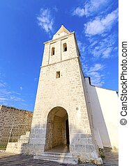 Church of Our Lady of Health, Krk, Croatia - The pyramidal...