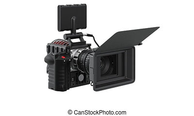 Camera video black professional