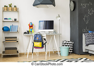 Scandinavian room for industrious student - Fully furnished...